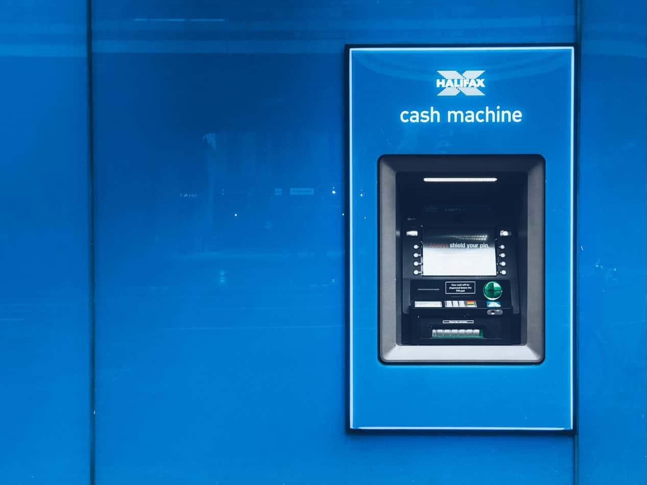 Blue ATM