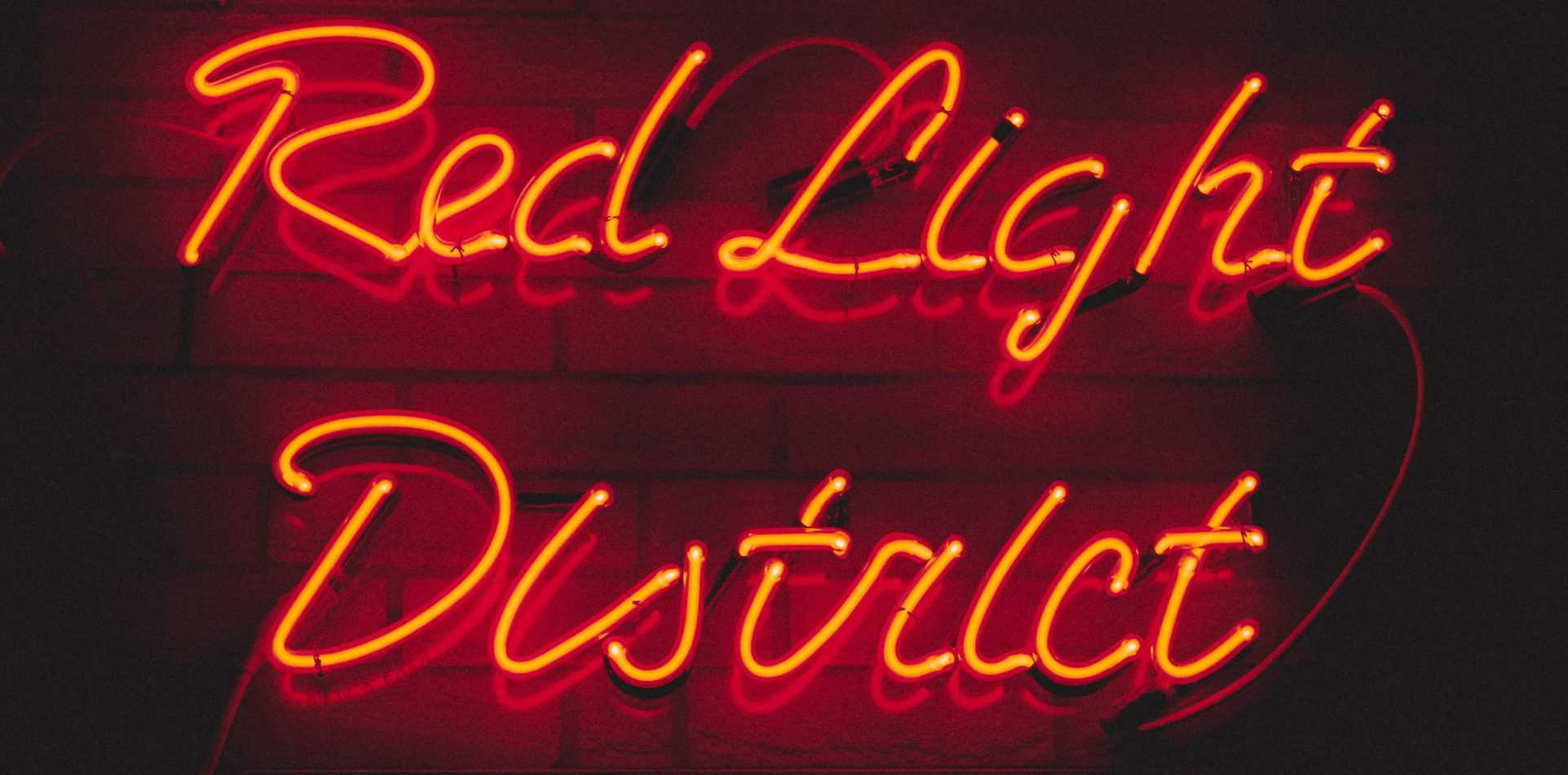 Light sign: Red Light District